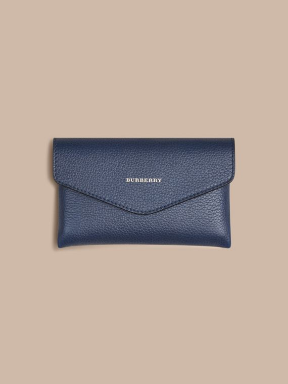 Wooden Domino Set with Grainy Leather Case in Bright Navy | Burberry - cell image 2