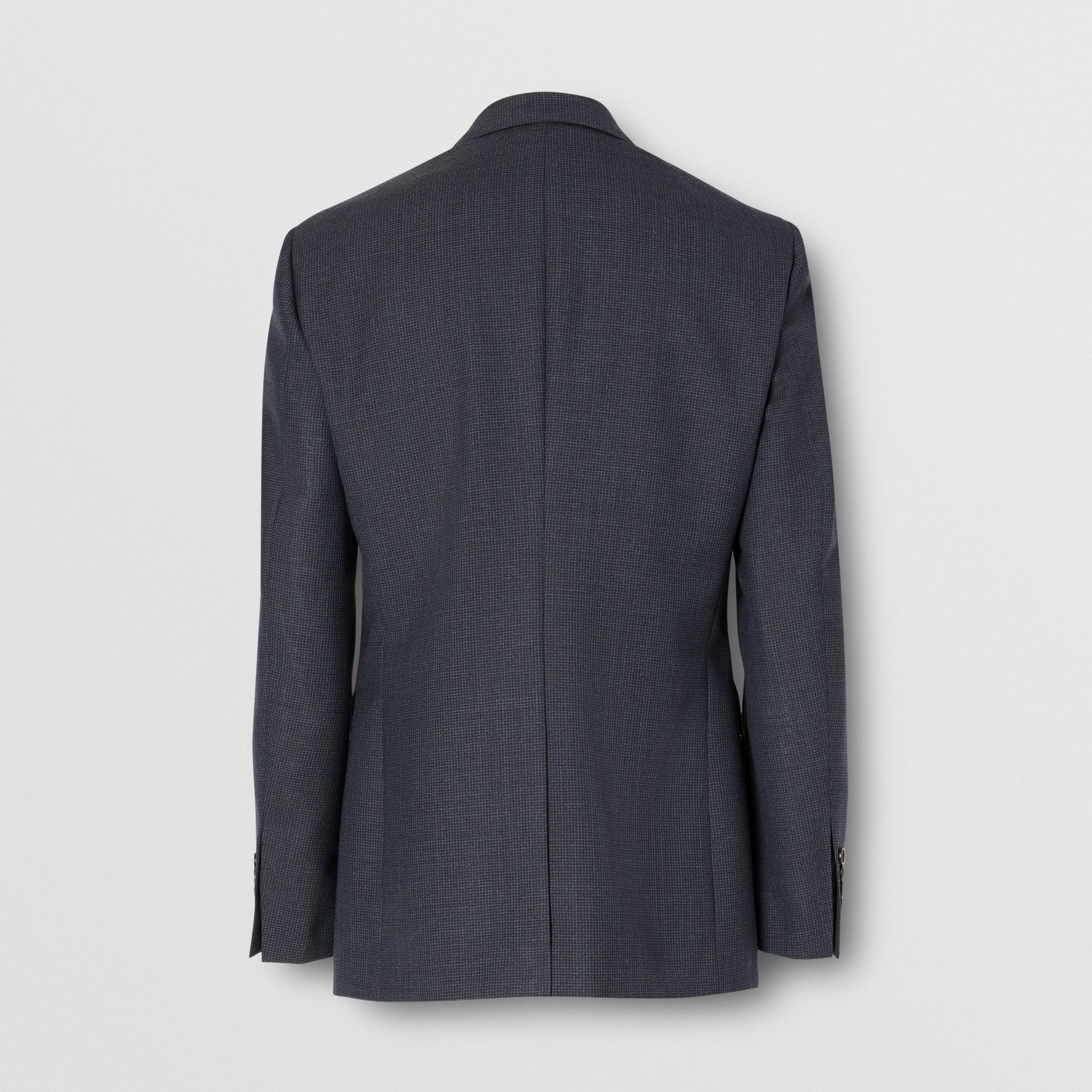 Slim Fit Wool Suit in Navy - Men | Burberry - gallery image 7