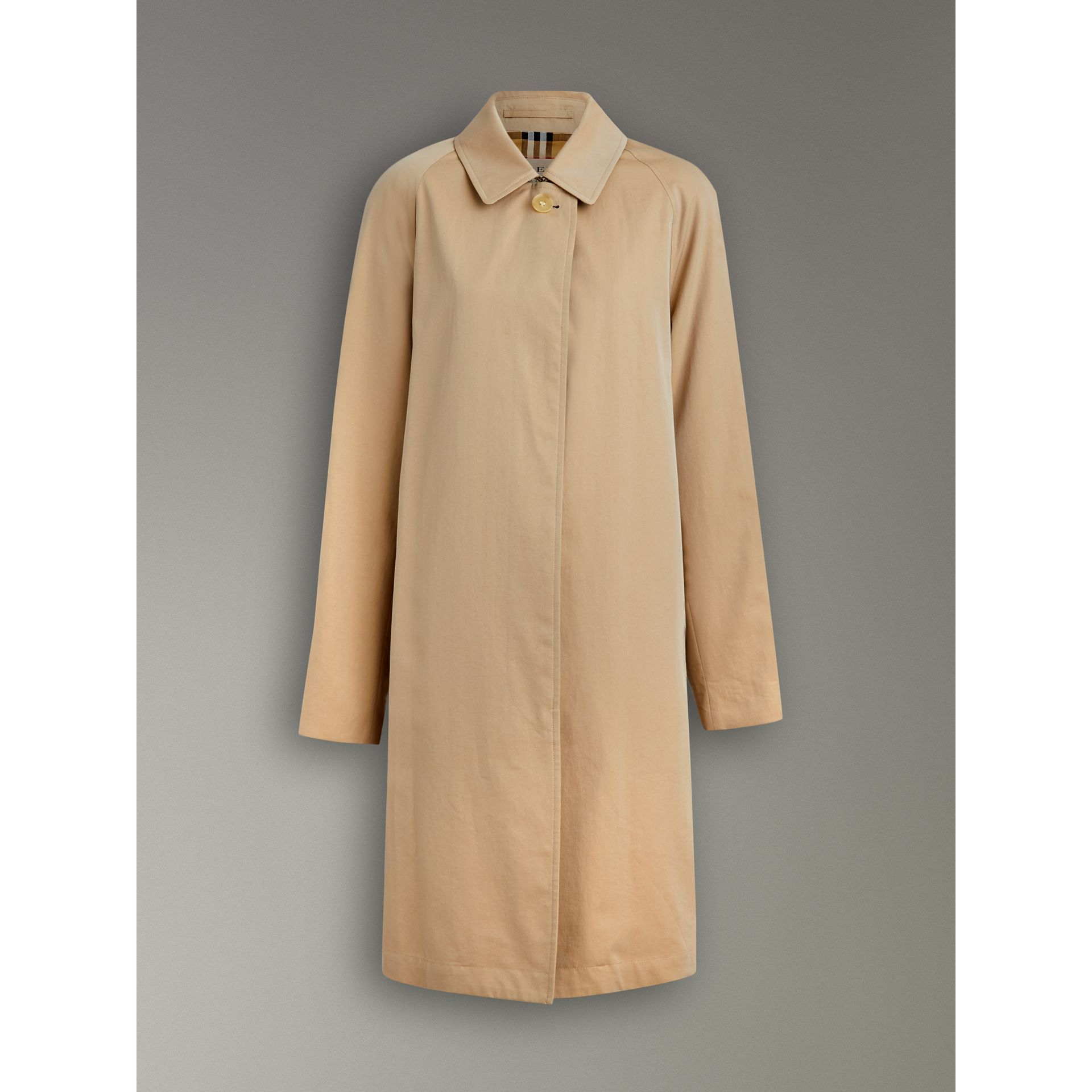 The Camden Car Coat in Honey - Women | Burberry Australia - gallery image 3