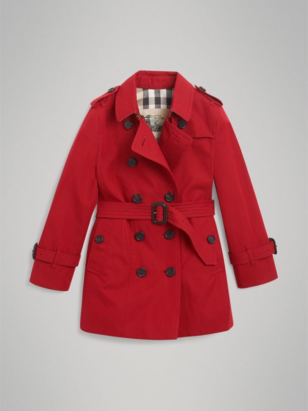 The Sandringham Trench Coat in Parade Red | Burberry - cell image 3