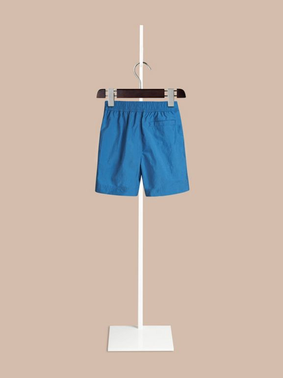 Lightweight Swim Shorts in Lupin Blue | Burberry - cell image 1