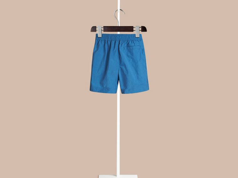 Lightweight Swim Shorts in Lupin Blue | Burberry Singapore - cell image 1