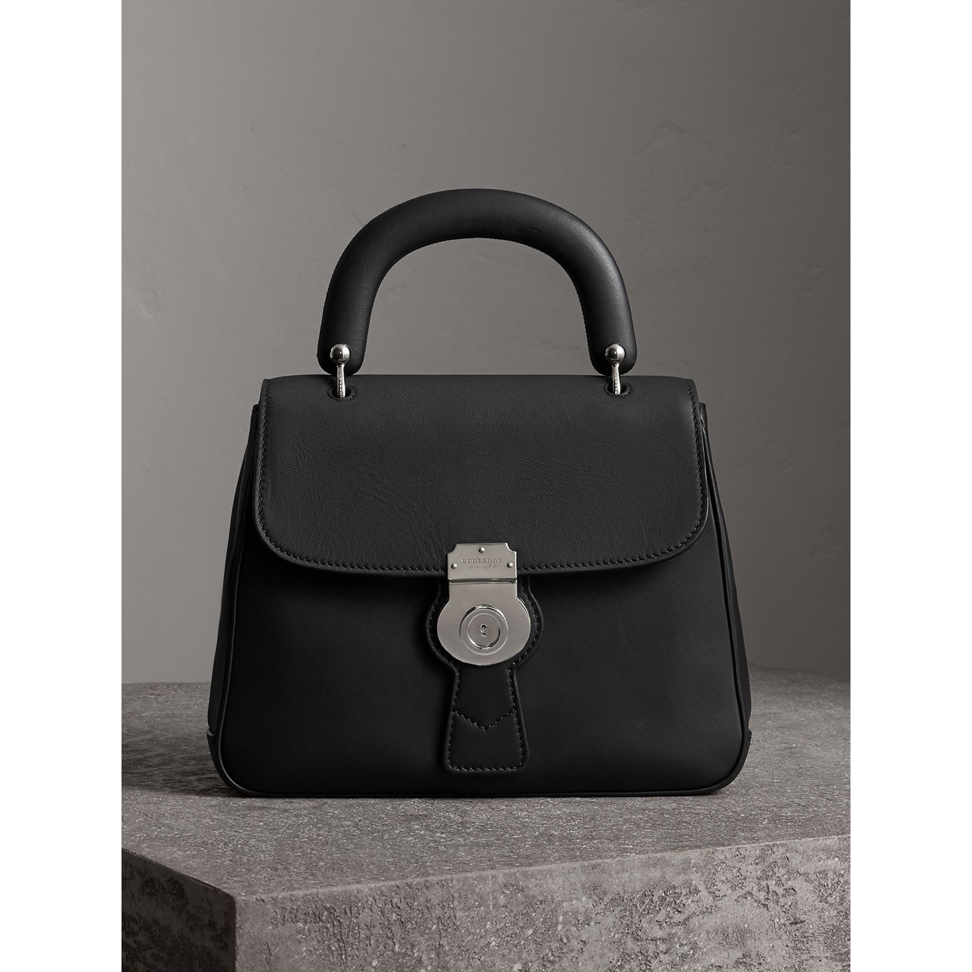 The Medium DK88 Top Handle Bag in Black - Women | Burberry Australia - gallery image 0
