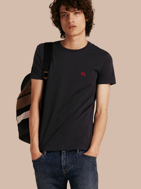 Liquid-soft Cotton T-Shirt Black