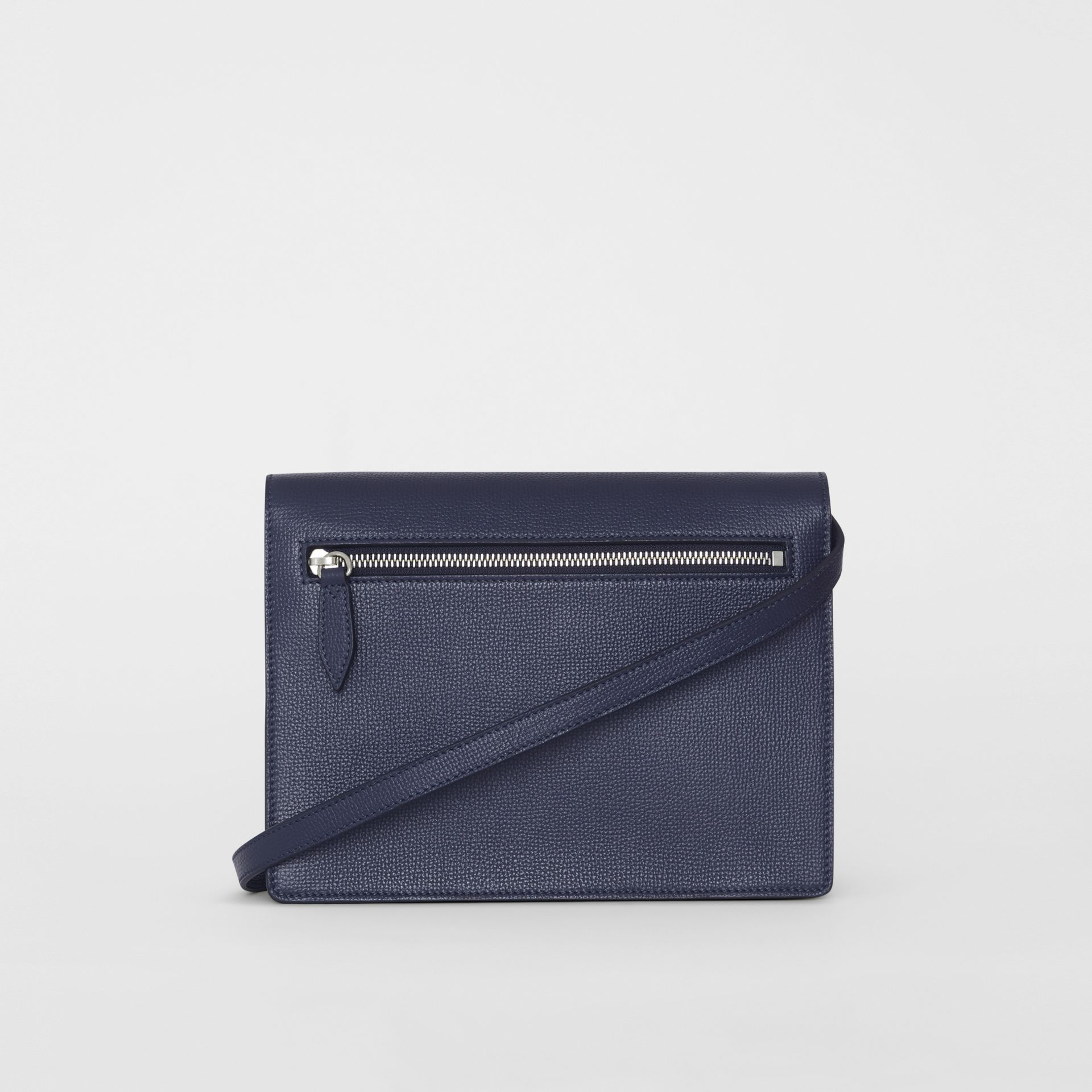 Small Vintage Check and Leather Crossbody Bag in Regency Blue - Women | Burberry - gallery image 5