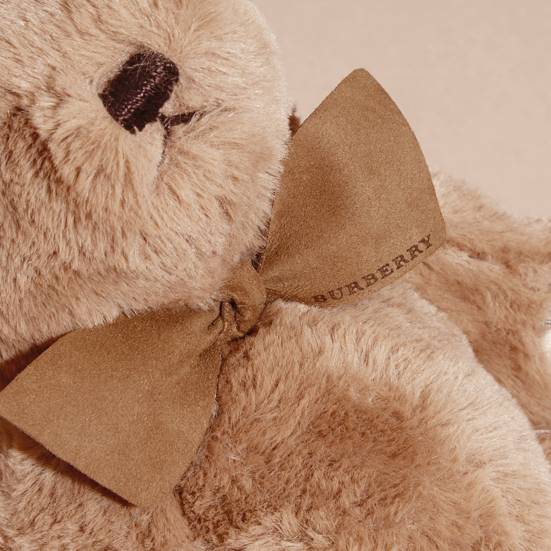 Thomas Baby Bear with Check Detail in Camel - Children | Burberry Australia - gallery image 2