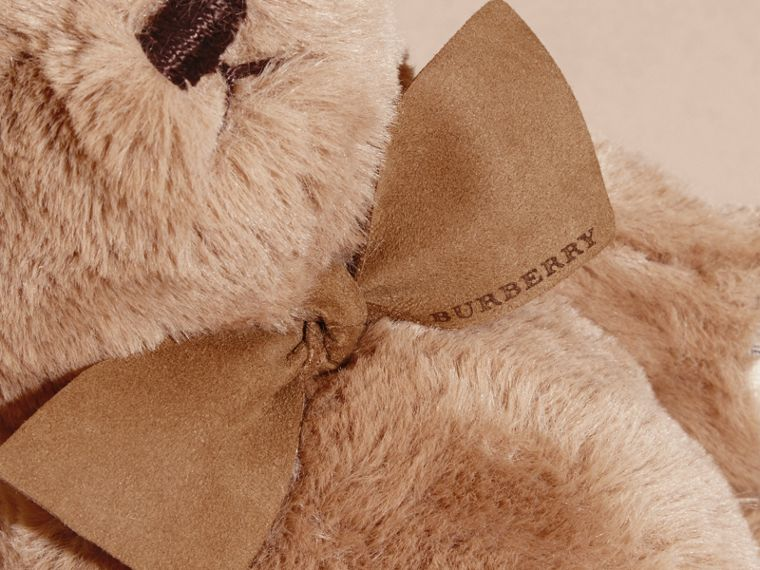 Thomas Baby Bear with Check Detail in Camel - Children | Burberry Australia - cell image 1