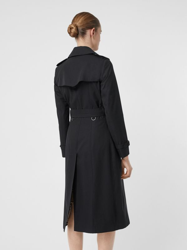 The Long Chelsea Heritage Trench Coat in Midnight - Women | Burberry United States - cell image 2