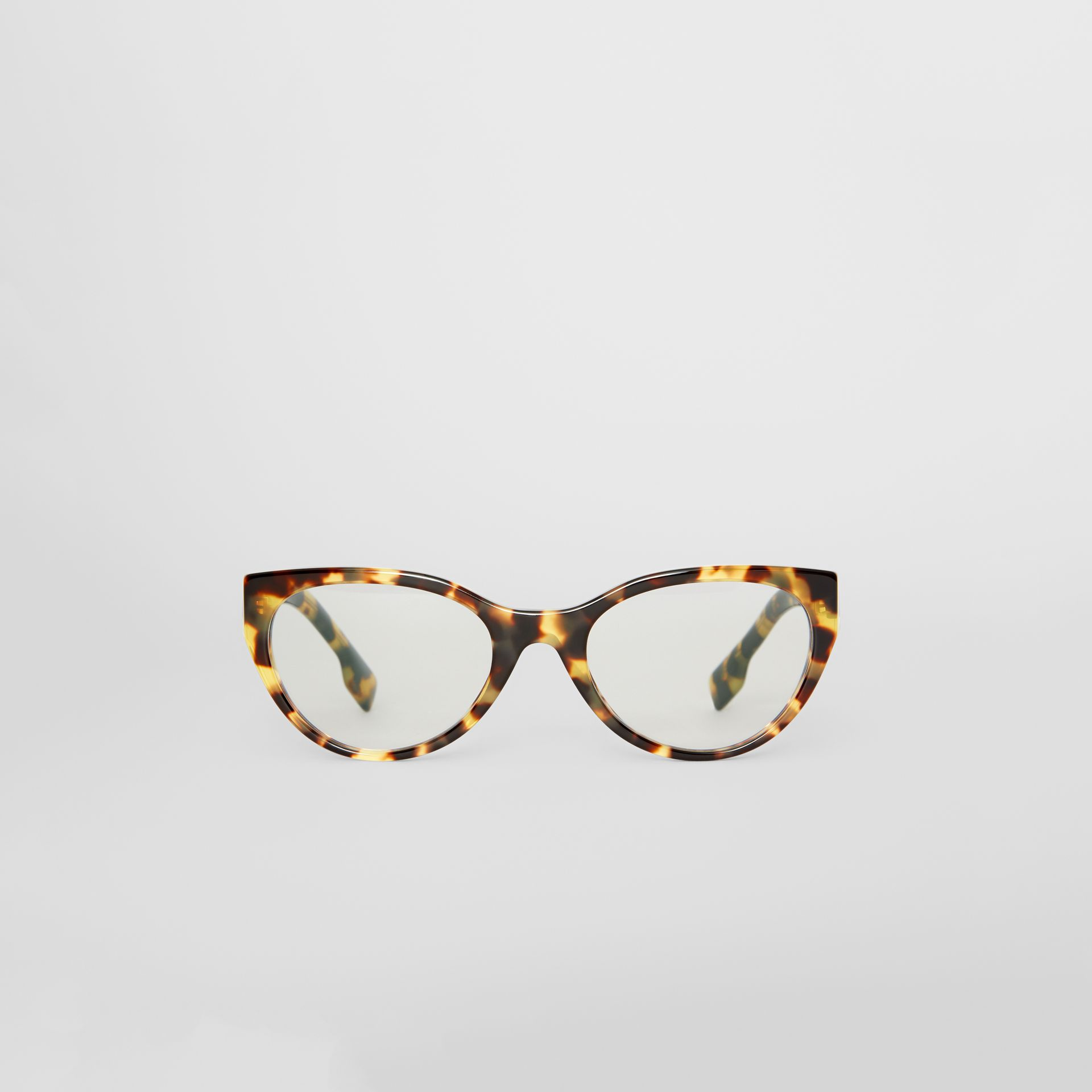 Cat-eye Optical Frames in Tortoise Shell - Women | Burberry Singapore - gallery image 0