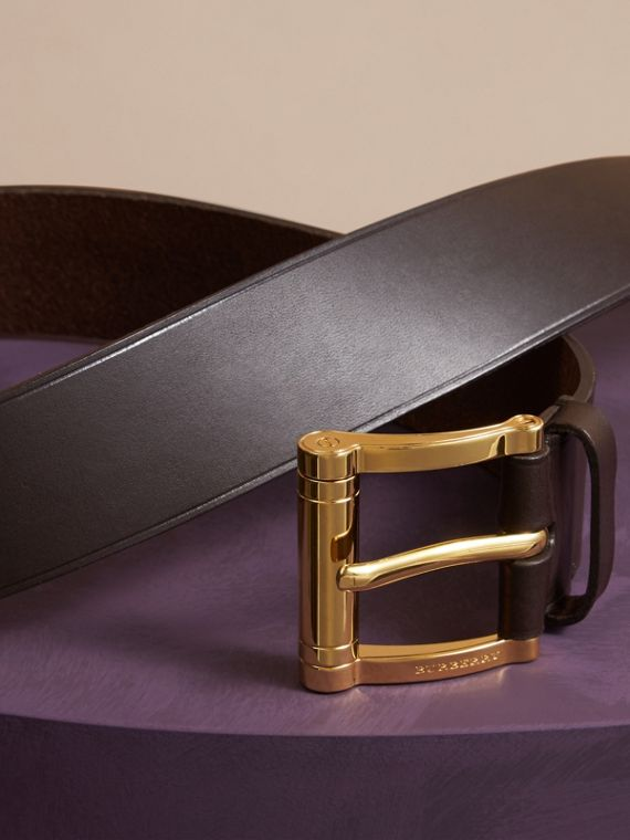 Dark clove brown Bridle Leather Belt Dark Clove Brown - cell image 2