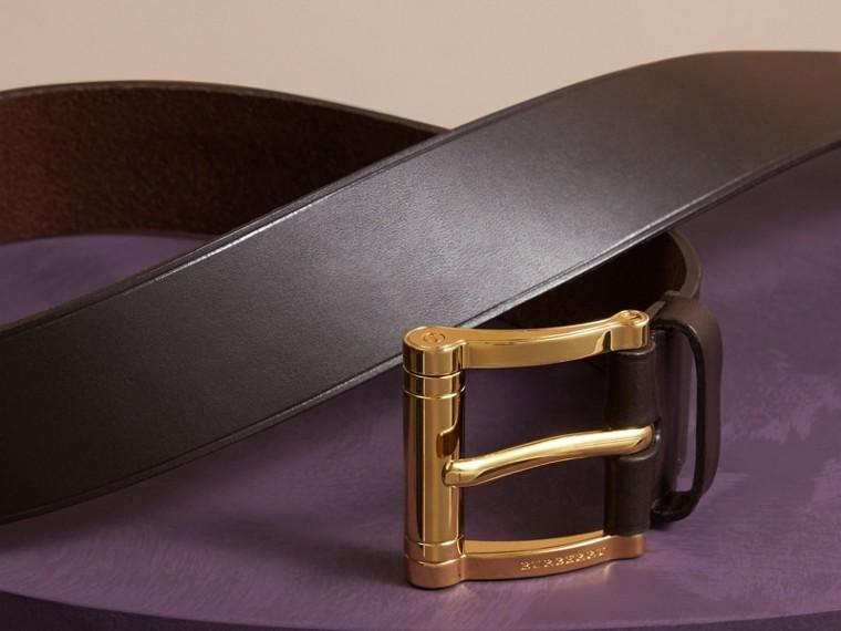Dark clove brown Bridle Leather Belt Dark Clove Brown - cell image 2