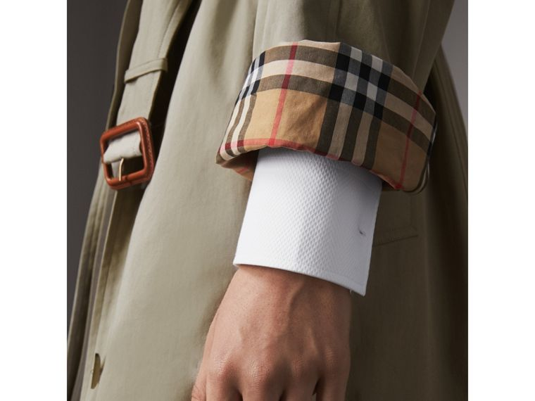 The Brighton – Extra-long Car Coat in Sandstone - Women | Burberry - cell image 4