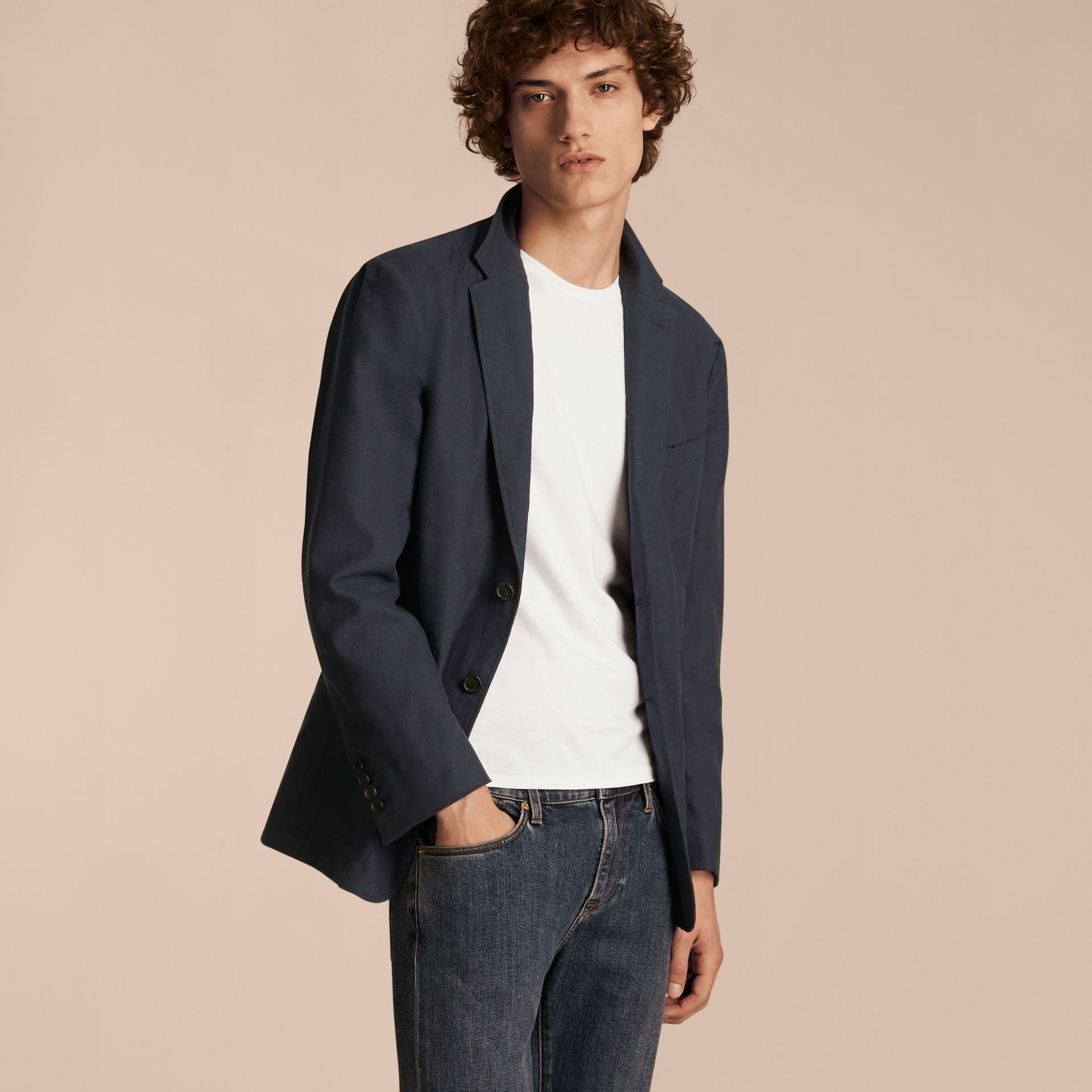 Cotton Blazer - gallery image 6