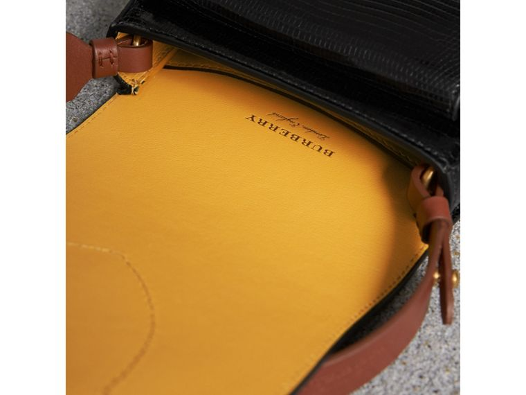 The Satchel in Lizard in Black - Women | Burberry Singapore - cell image 4