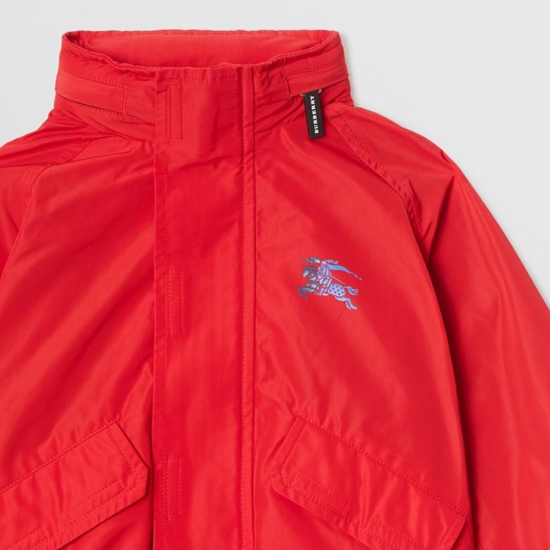Burberry - Jacke aus Taft mit Memory-Effekt und packbarer Kapuze - 5