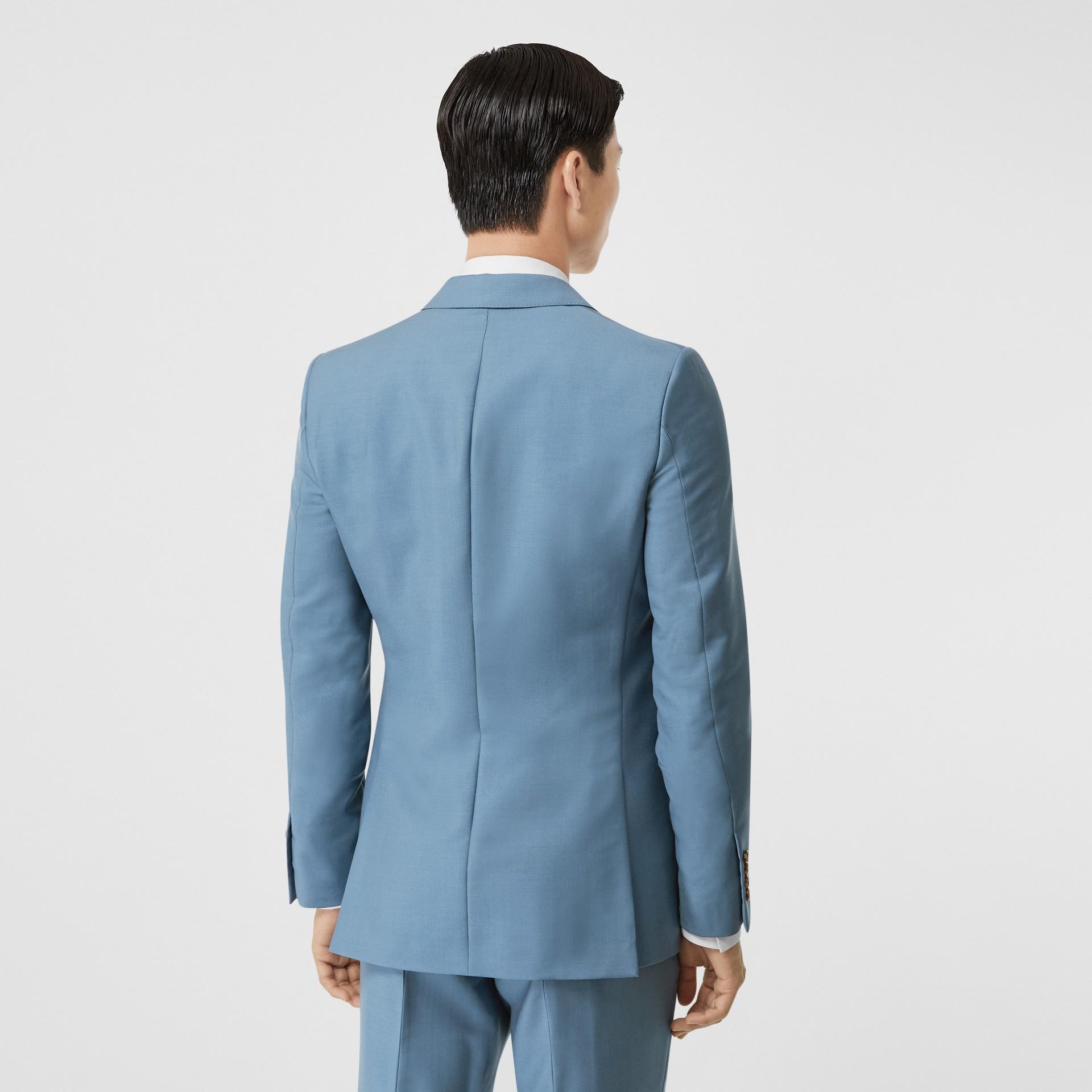 Пиджак в английском стиле из шерсти и мохера (Стальной Синий) - Для мужчин | Burberry - изображение 2