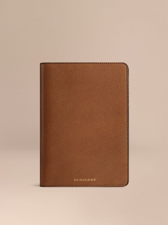 Grainy Leather iPad Mini Case Tan