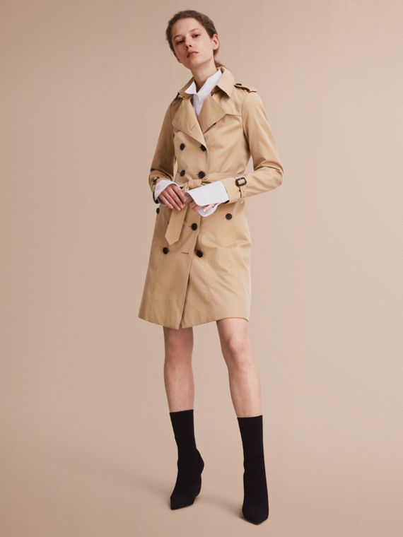 The Sandringham - Trench coat Heritage longo Mel