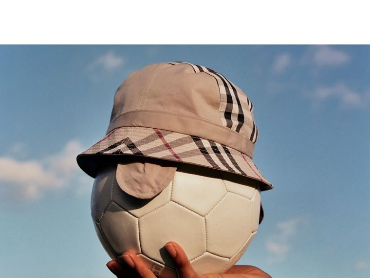 Gosha x Burberry Bucket Hat in Honey | Burberry - cell image 4