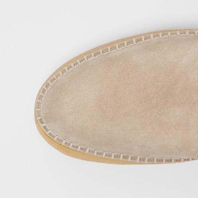 Burberry - Sportschuhe aus Veloursleder ohne Verschluss - 2