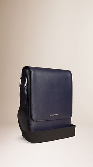 Crossbody-Tasche aus London-Leder