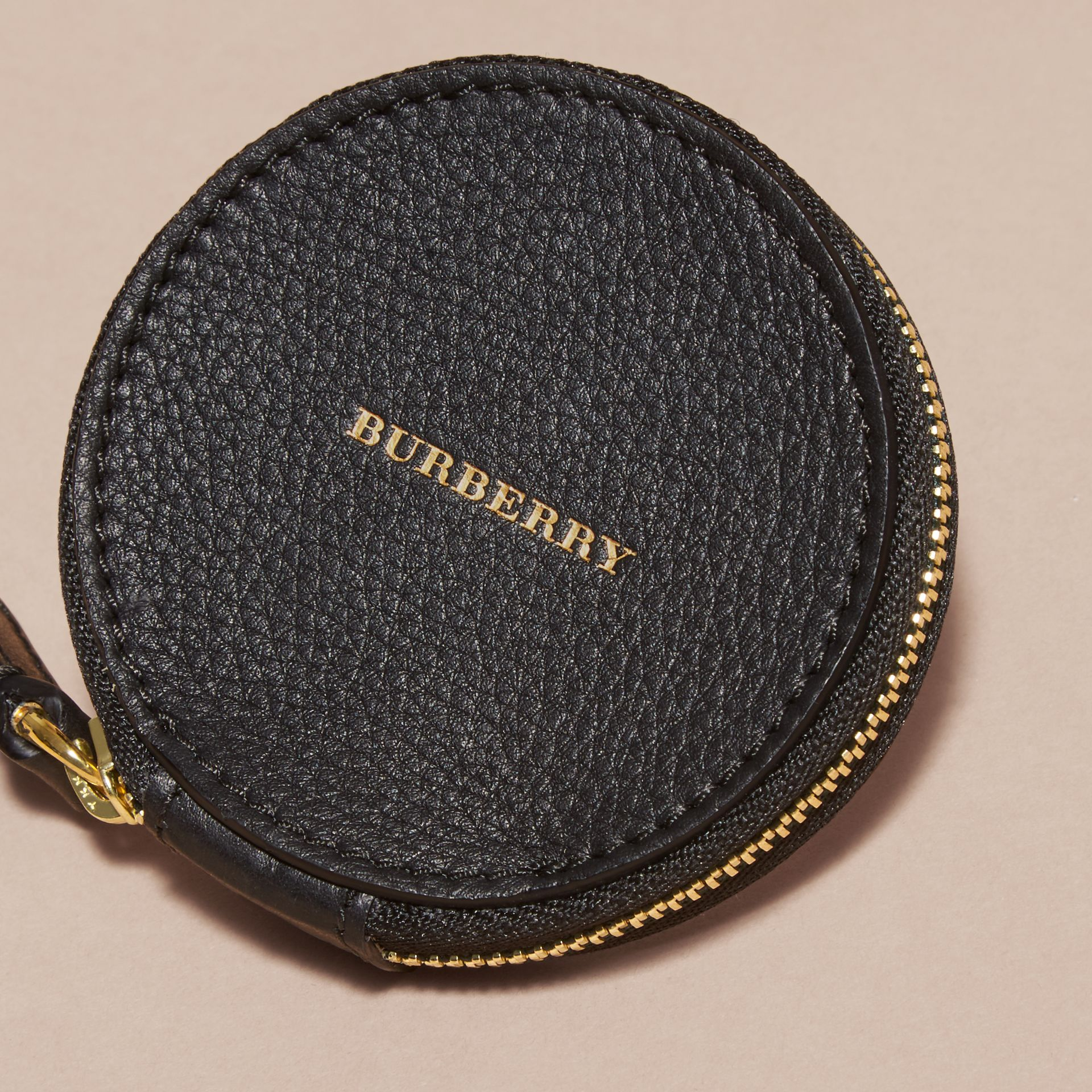 Studded Leather Coin Case - gallery image 4