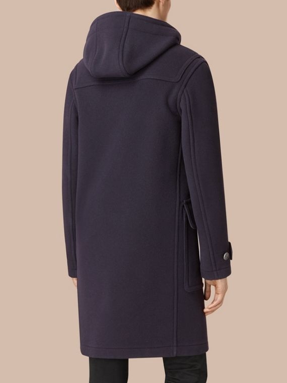 Wool-Blend Duffle Coat Navy - cell image 2