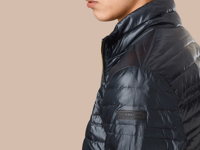 Lightweight Down-filled Jacket Navy - cell image 1