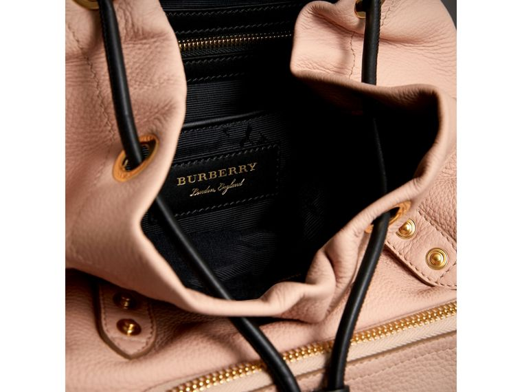 The Medium Rucksack in Deerskin with Resin Chain in Pale Apricot - Women | Burberry - cell image 4