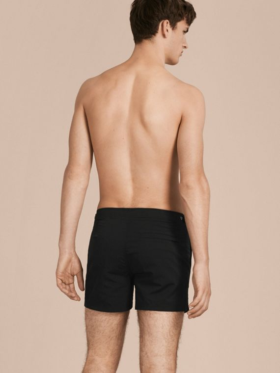 Black Tailored Swim Shorts Black - cell image 2