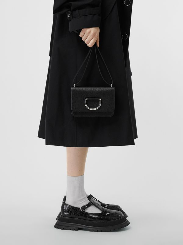 The Mini Leather D-ring Bag in Black - Women | Burberry United States - cell image 2