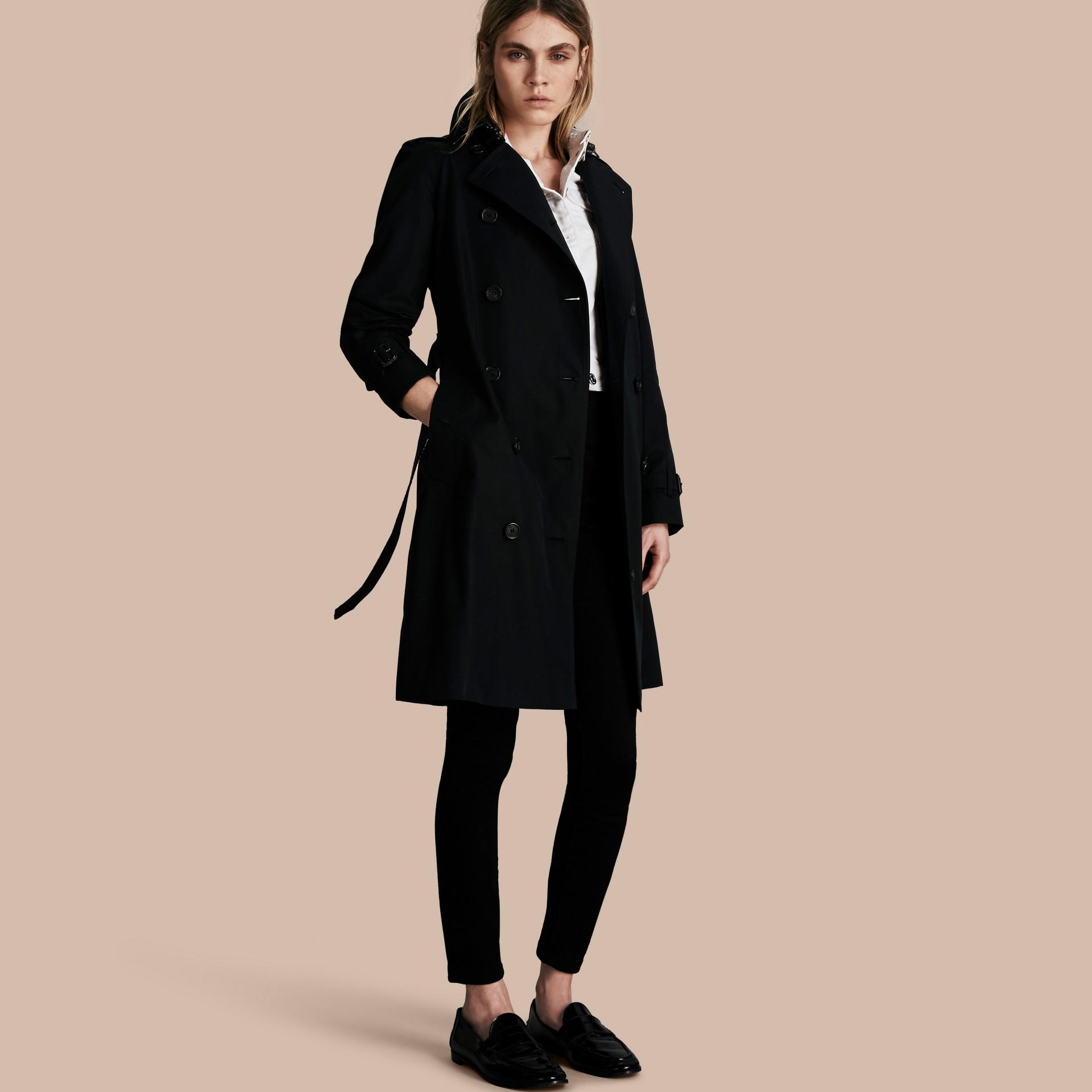 Noir The Westminster – Trench-coat Heritage long Noir - photo de la galerie 1