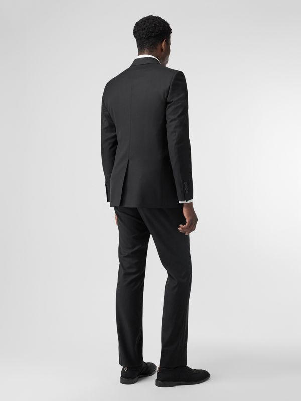 Classic Fit Wool Suit in Black - Men | Burberry United Kingdom - cell image 2