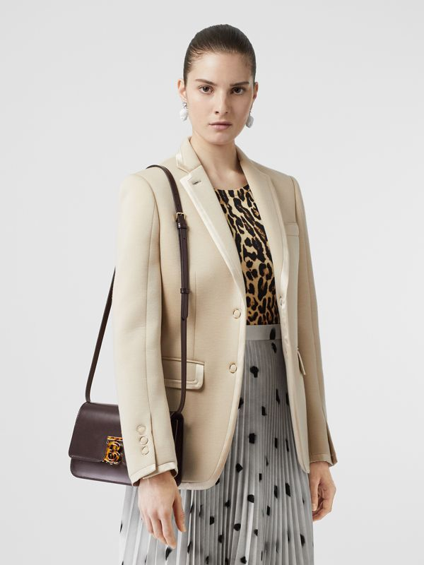 Small Leather TB Bag in Coffee - Women | Burberry - cell image 2