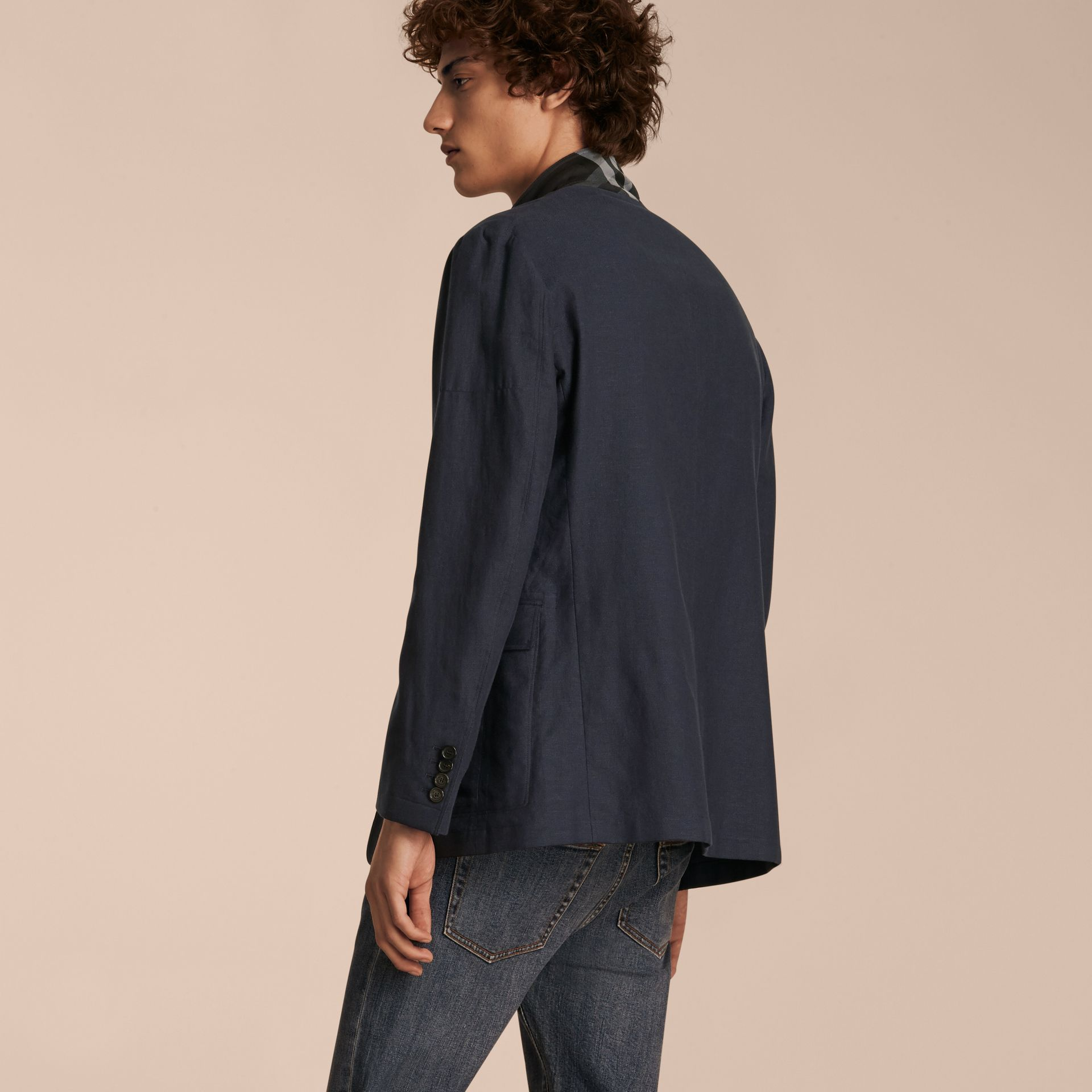 Cotton Blazer - gallery image 3