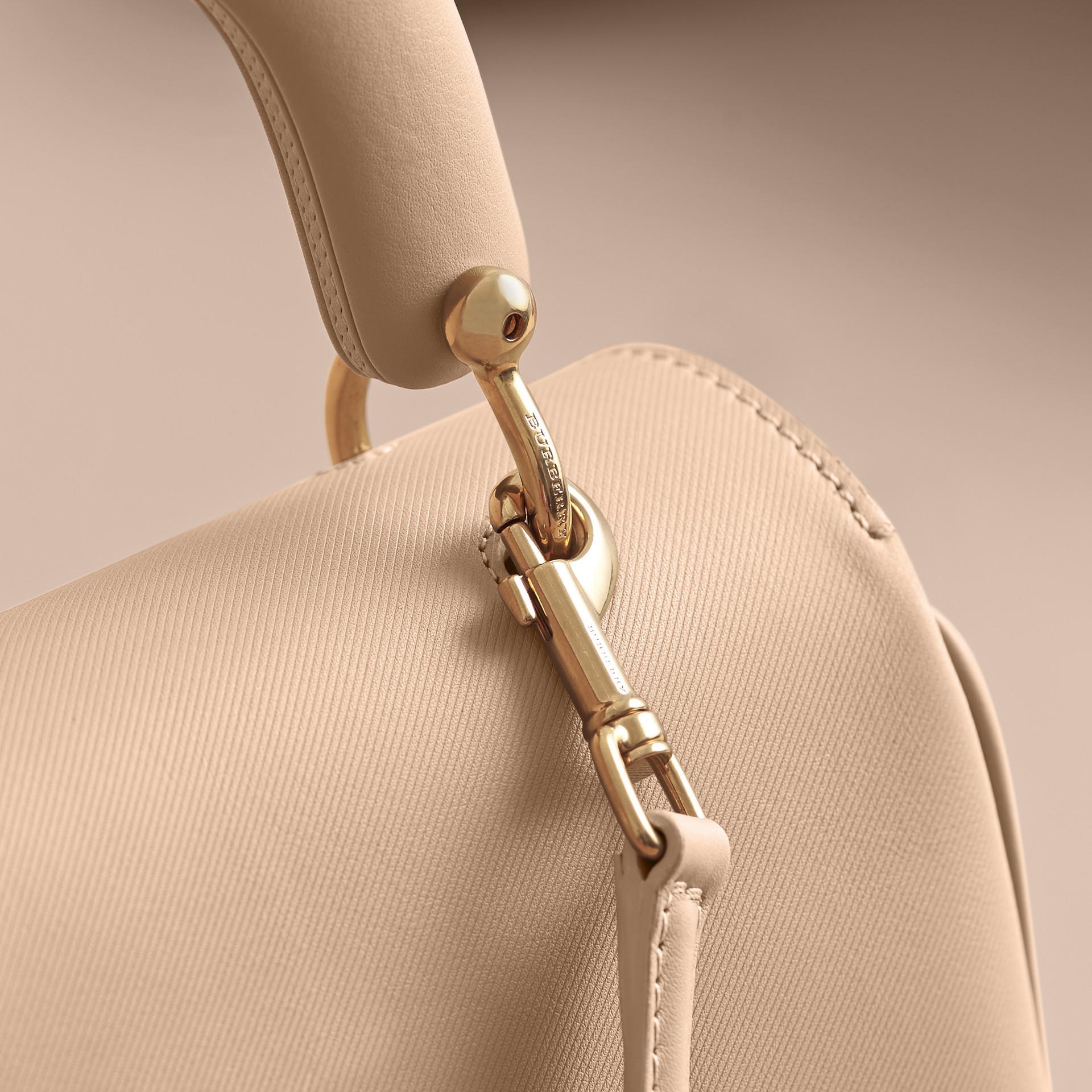 The Medium DK88 Top Handle Bag in Honey - gallery image 2