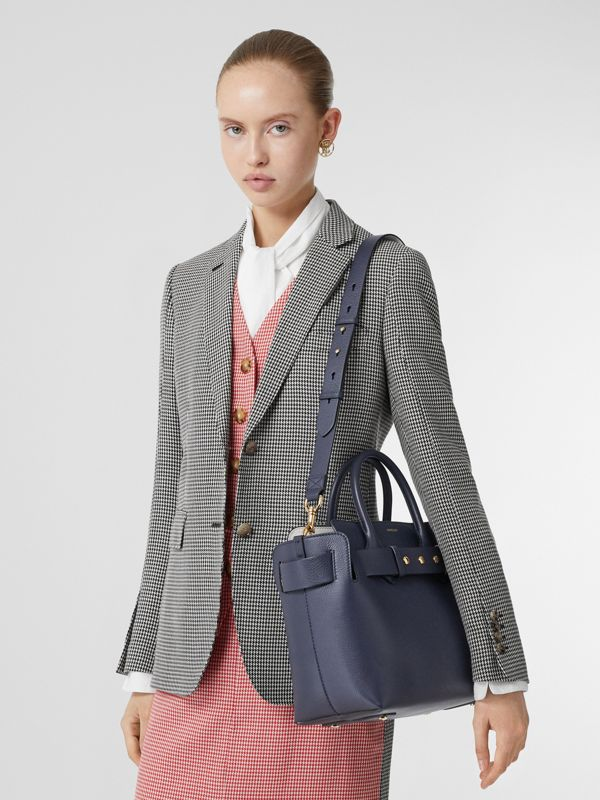 Borsa The Belt piccola in pelle con tre borchie (Blu Reggenza) - Donna | Burberry - cell image 2