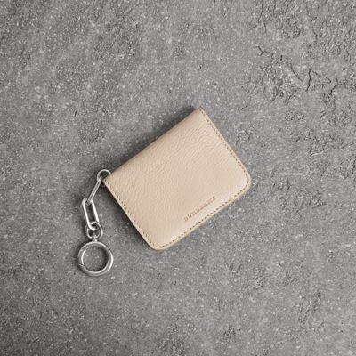 LINK DETAIL LEATHER ID CARD CASE CHARM