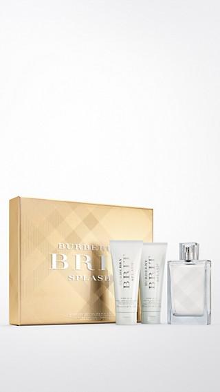 Coffret de luxe Burberry Brit Splash pour Homme