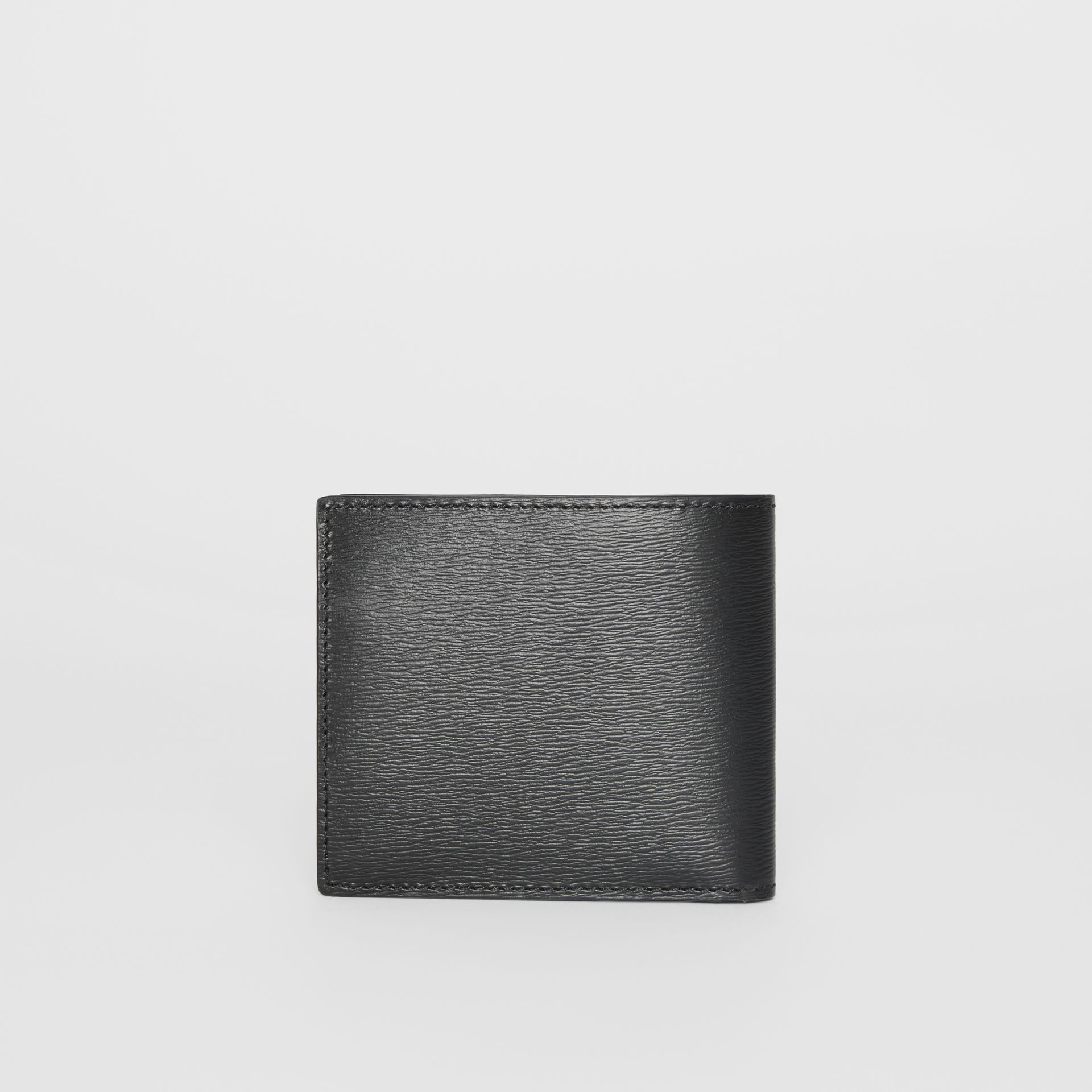 London Leather International Bifold Coin Wallet in Black - Men | Burberry Hong Kong - gallery image 5