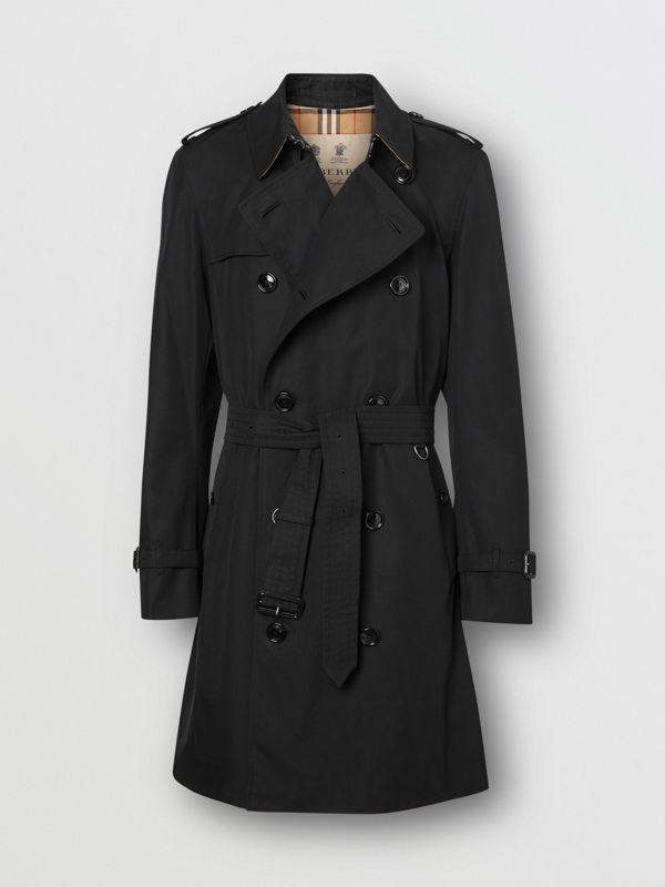 The Chelsea Heritage Trench Coat in Black - Men | Burberry Canada - cell image 3