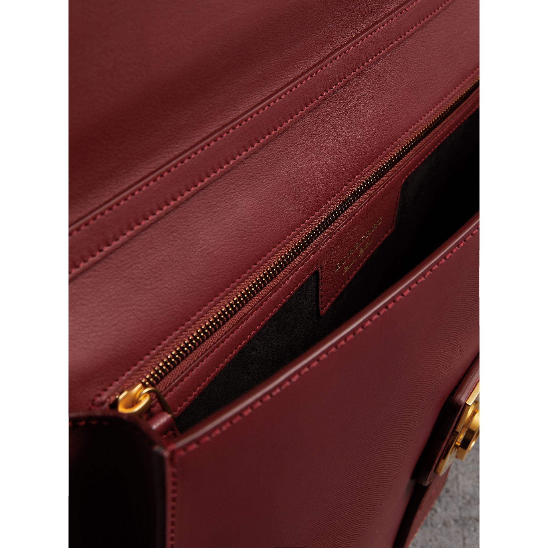 The Large DK88 Document Case in Antique Red - Men | Burberry - gallery image 5