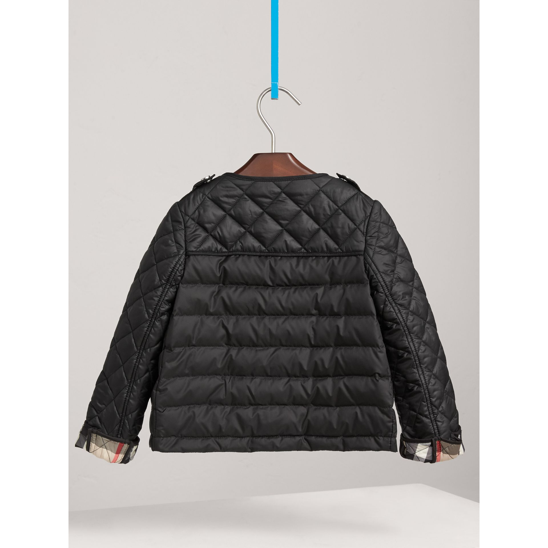 Veste imperméable rembourrée en duvet (Noir) - Fille | Burberry - photo de la galerie 3