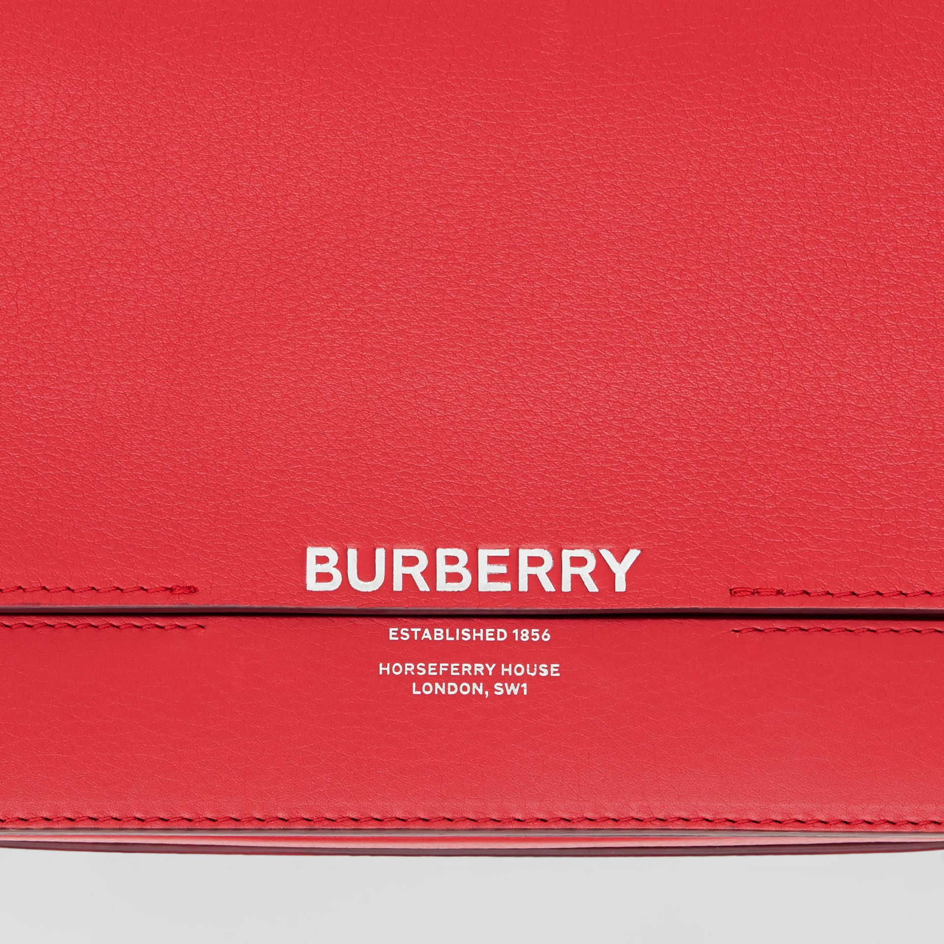 Small Leather Grace Bag in Bright Military Red - Women | Burberry United States - gallery image 1