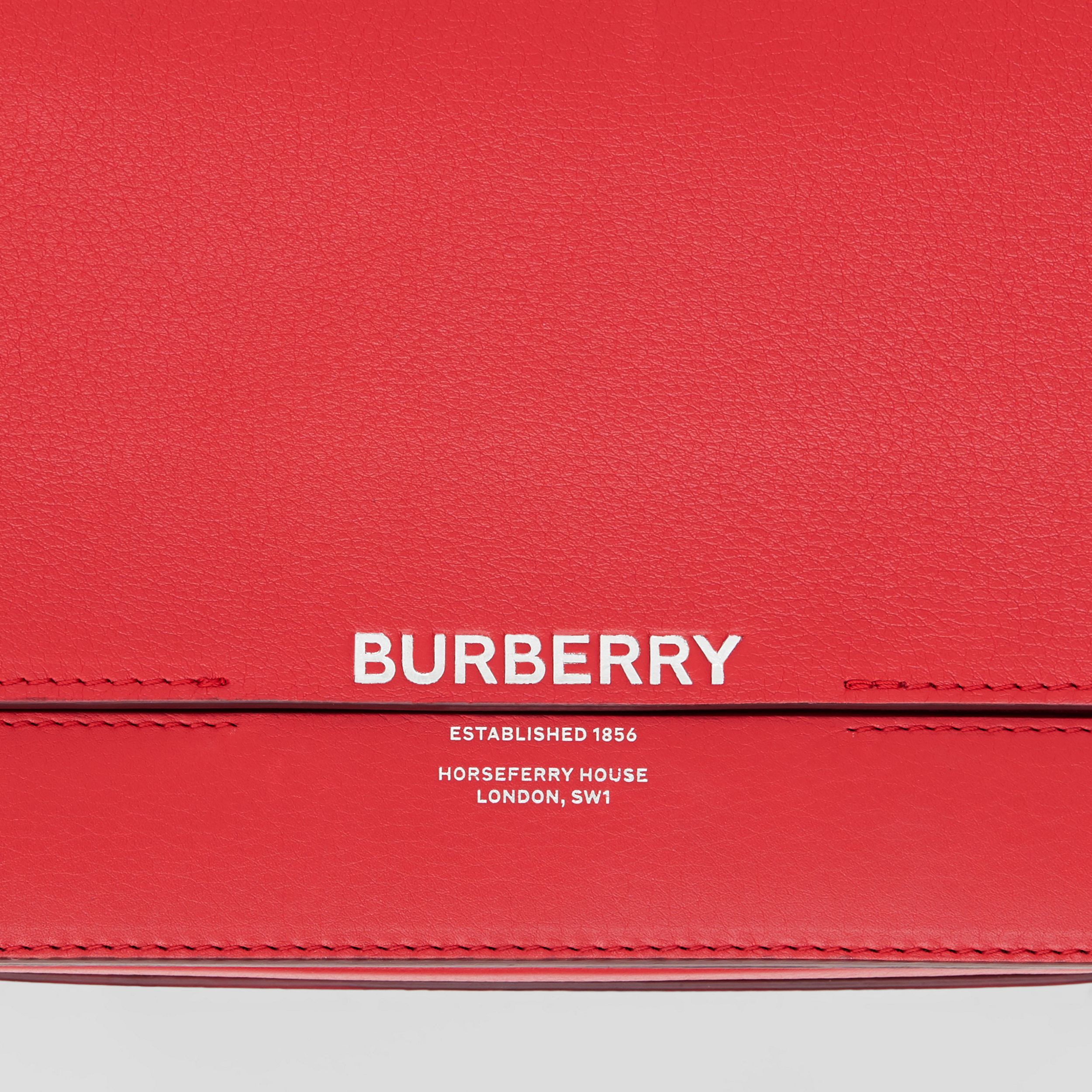 Small Leather Grace Bag in Bright Military Red - Women | Burberry - 2