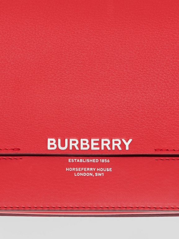 Small Leather Grace Bag in Bright Military Red - Women | Burberry - cell image 1