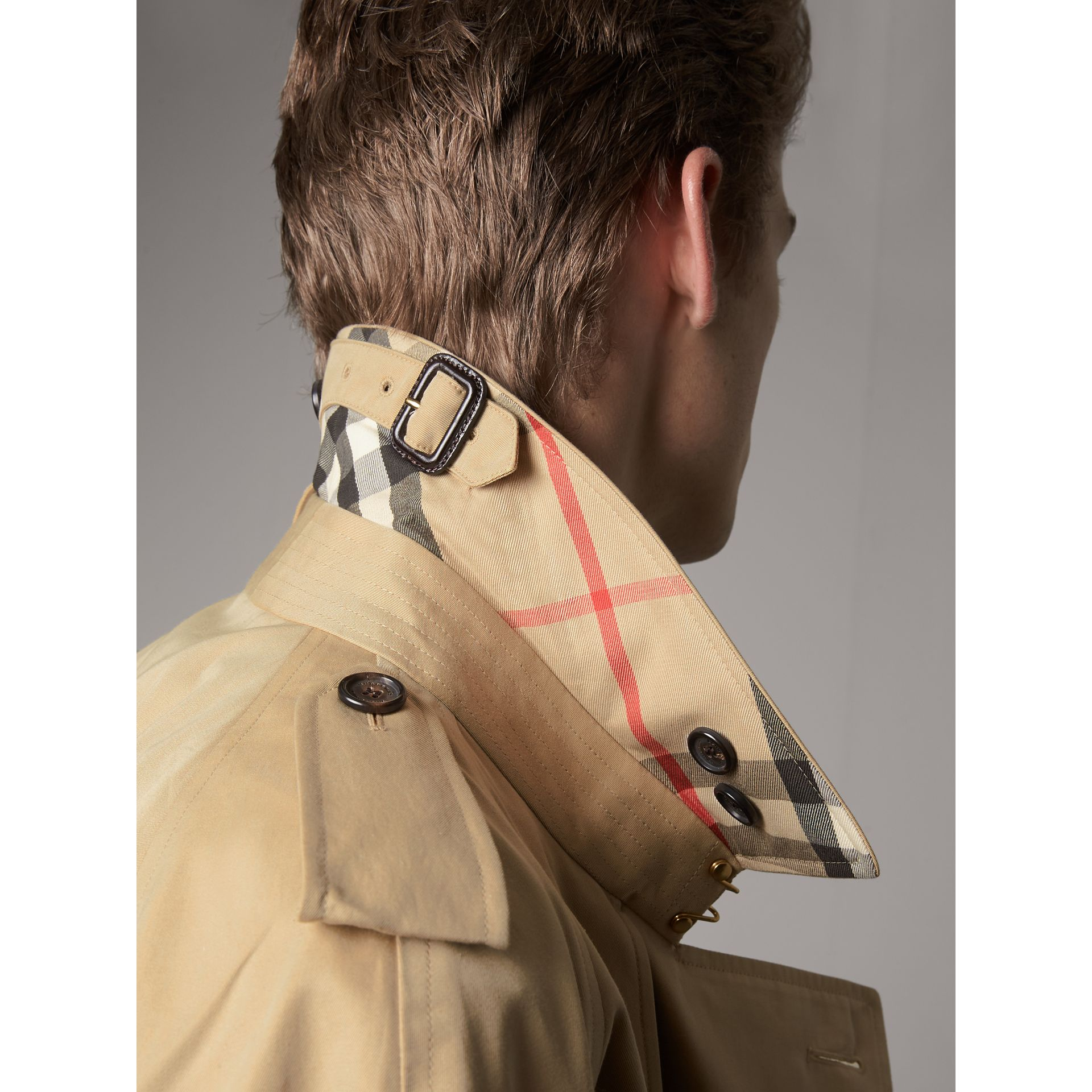 The Westminster – Extra-long Trench Coat in Honey - Men | Burberry United States - gallery image 1