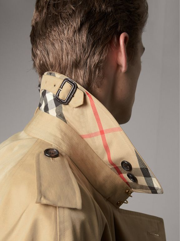The Westminster – Extra-long Trench Coat in Honey - Men | Burberry United States - cell image 1