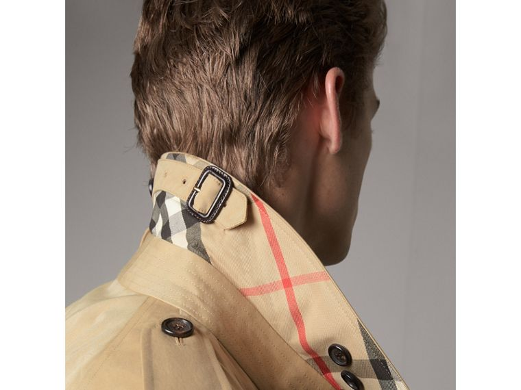 The Westminster – Extra-long Heritage Trench Coat in Honey - Men | Burberry Hong Kong - cell image 1
