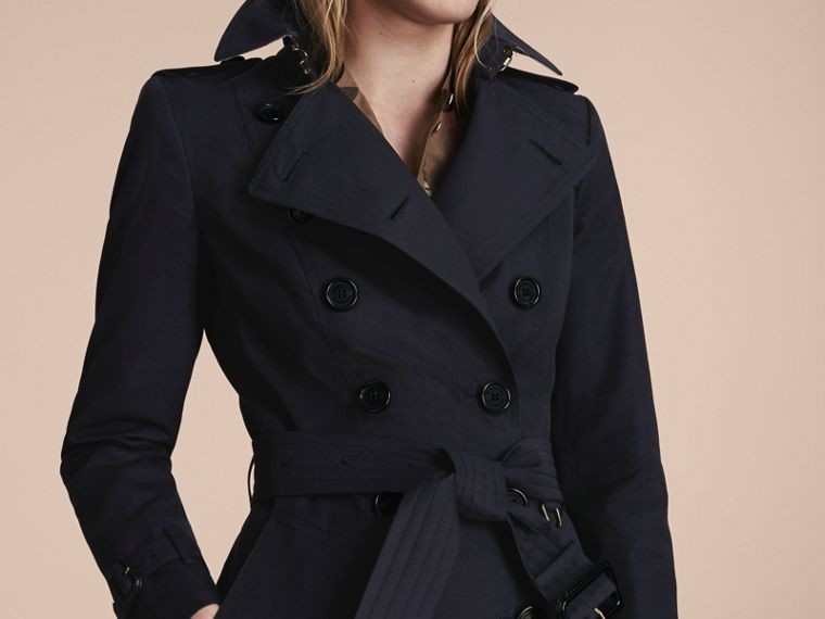 Navy The Chelsea - Trench coat Heritage lungo Navy - cell image 4
